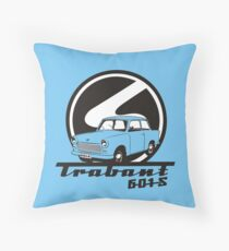 TRABANT - EAST GERMANY CAR Throw Pillow