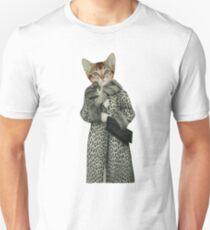 Kitten Dressed as Cat Unisex T-Shirt