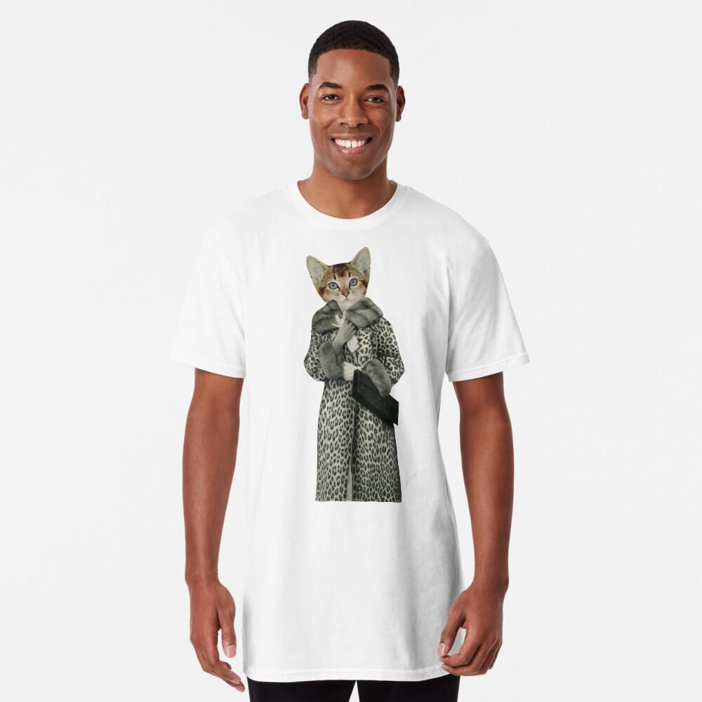 Kitten Dressed as Cat Long T-Shirt
