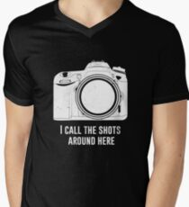 Photographer I call the shots funny design T-Shirt