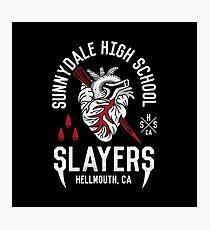 Sunnydale Slayers Photographic Print