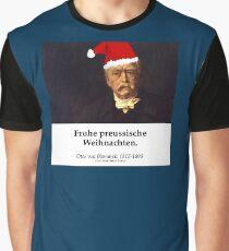 Otto von Bismarck - Frohe Preussische Weihnachten Graphic T-Shirt