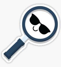 Magnifying Emoji   Sticker