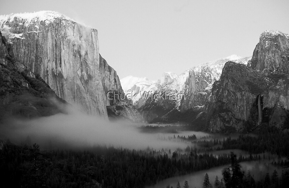 YOSEMITE VALLEY, WINTER by Chuck Wickham