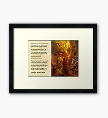 Rapunzel - Fairy Tale/Movie Design Framed Print