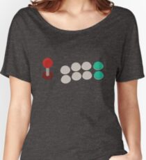 Arcade game control stick T shirt! Women's Relaxed Fit T-Shirt