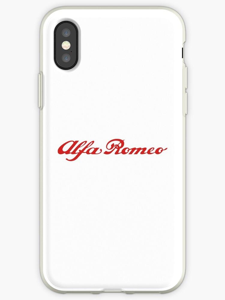 coque alfa romeo iphone xs