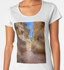At the End of the Canyon - Grand Staircase of the Escalante - Utah Women's Premium T-Shirt