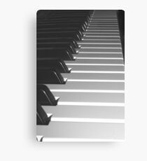 Music Keyboard Canvas Print
