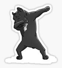 Funny Dabbing Cane Corso Dog Sticker