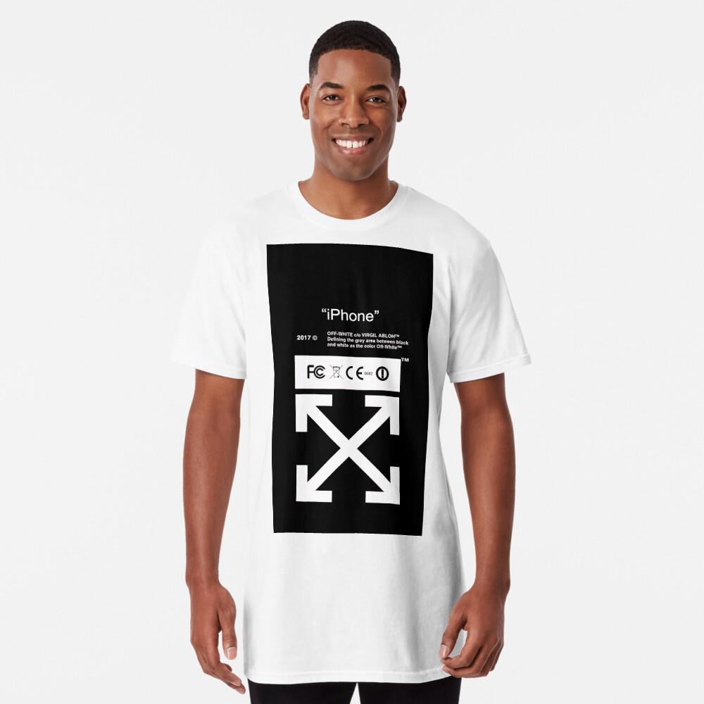 Blanquecino Camiseta larga