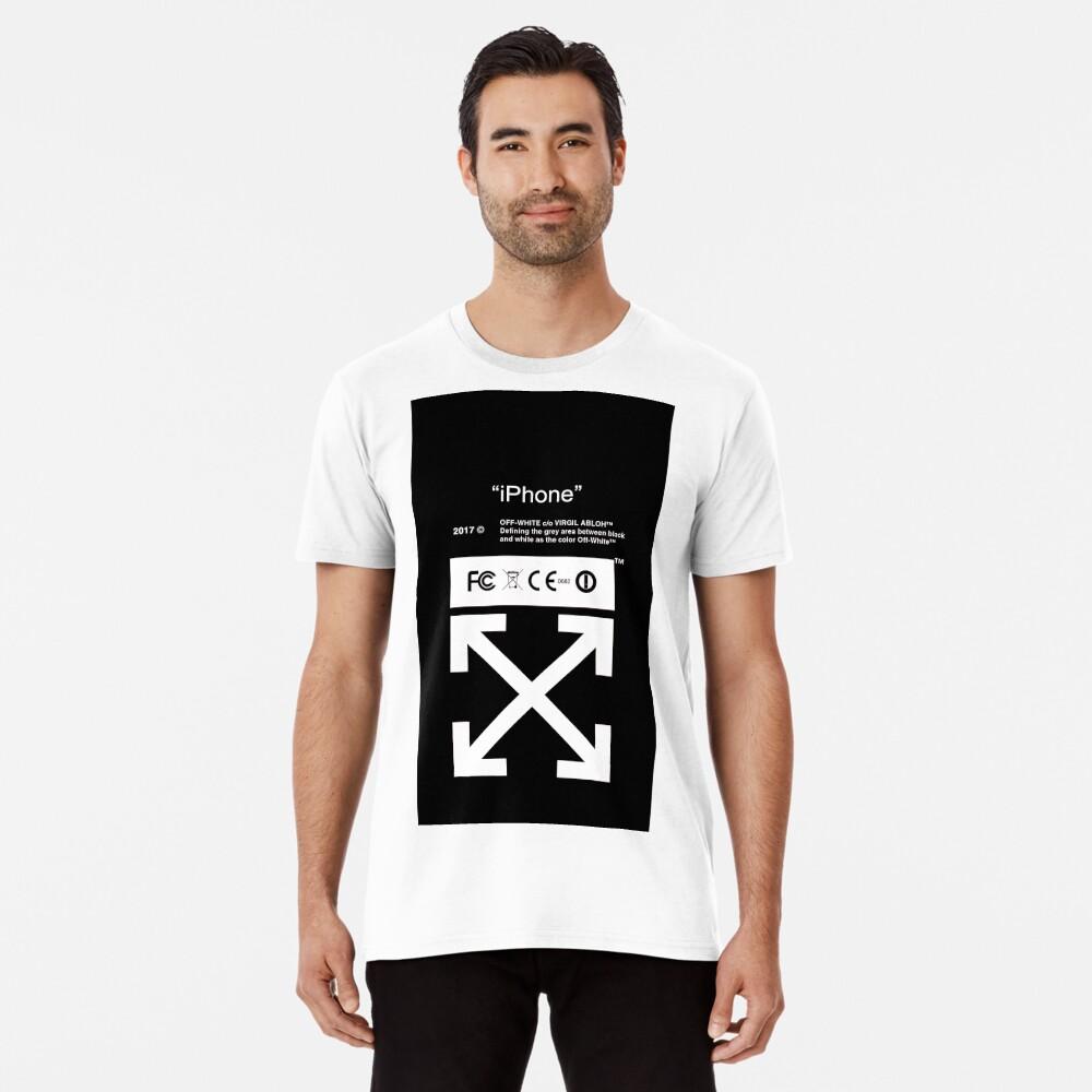 Blanquecino Camiseta premium
