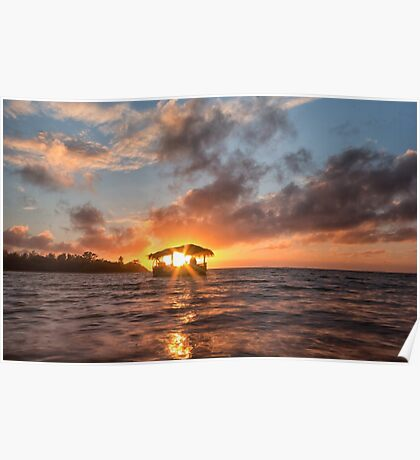 Sunrise in Paradise Poster