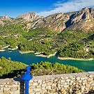 A viewing point at Guadalest 2 by Ralph Goldsmith