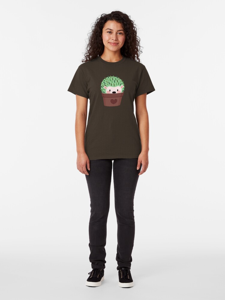 Alternate view of Hedgehogs disguised as cactuses Classic T-Shirt