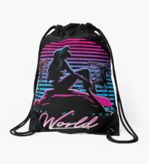 Part Of Your World Drawstring Bag