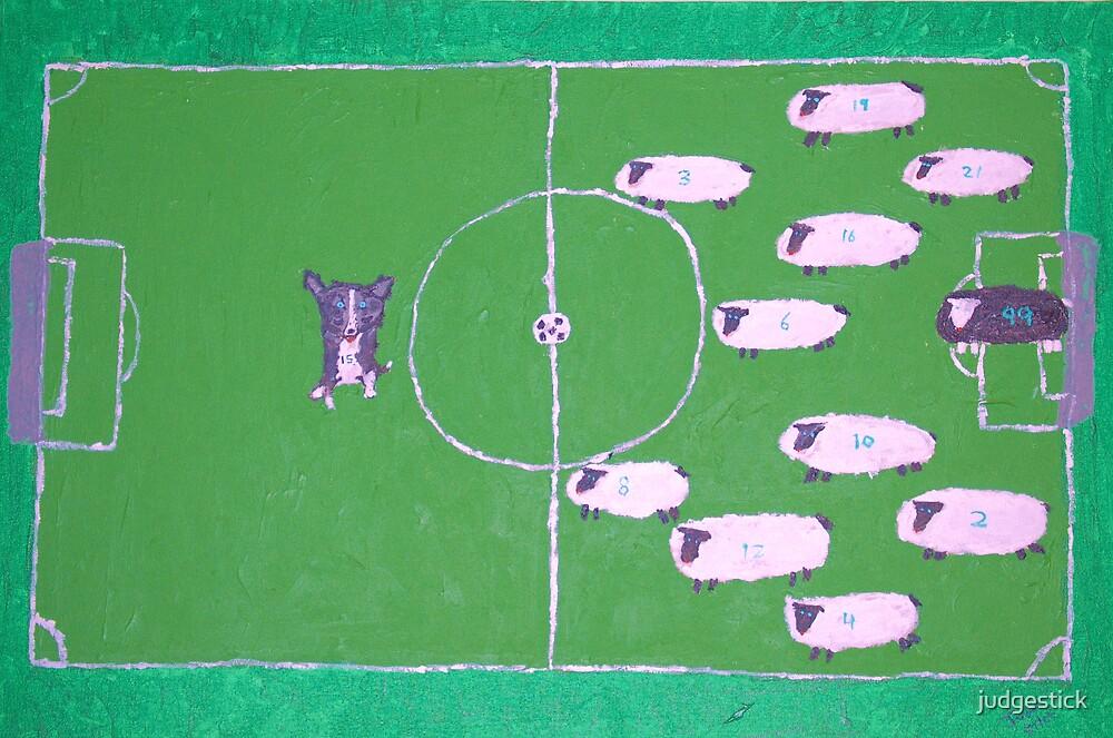Sheep vs. Mika by judgestick