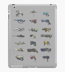arcade weapons iPad Case/Skin