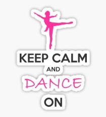 Dancer Gift Ideas Sticker