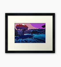 A Journey to Nowhere Framed Print