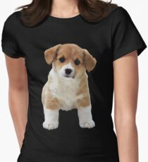A Little Puppy Womens Fitted T-Shirt