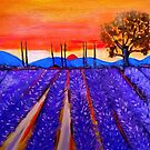 Sunset in Provence by Rusty  Gladdish