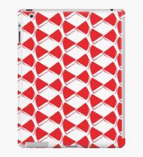 Red pop papillon iPad Case/Skin