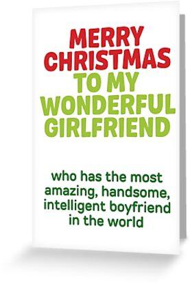 Frohe Weihnachten Freundin.Frohe Weihnachten Zu Meiner Wunderbaren Freundin Grußkarte By Sillyprintsuk