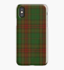 00304 Cavan County District Tartan  iPhone Case