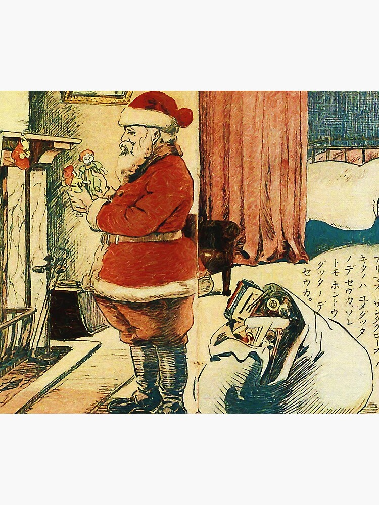Santa Claus in Japan 1914 Reworked No. 1 by 8th-and-f