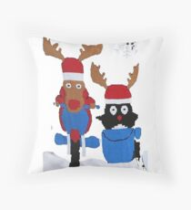 The man from uncle series Throw Pillow