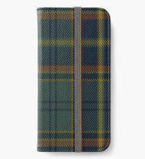 00299 Antrim County District Tartan  iPhone Wallet/Case/Skin