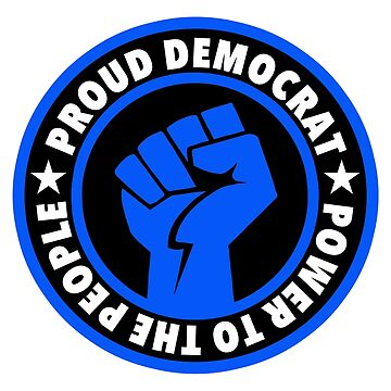Proud Democrat Blue by Thelittlelord