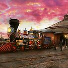 Train - The JH Devereux 1862 by Michael Savad