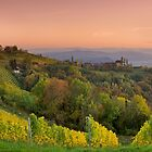 Kitzeck Panorama in Fall by Delfino