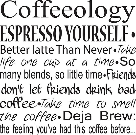 Coffee Barista Gifts Coffee Quotes Posters By Merkraht Redbubble