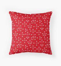 Midcentury Modern Dots 29 Throw Pillow