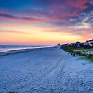 Surfside Beach looking south by TJ Baccari Photography