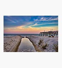 Surfside Beach Sunset Photographic Print
