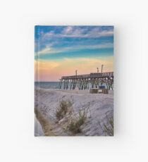 Surfside Beach Sunset Hardcover Journal