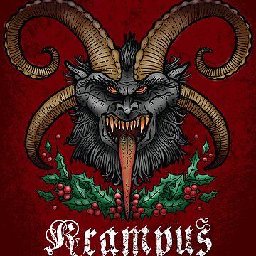 Krampus by celthammerclub
