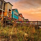 Surfside Beach in HDR by TJ Baccari Photography