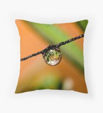 Lavender Refraction Throw Pillow