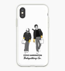Steve Harrington Babysitting Co. iPhone Case