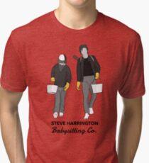 Steve Harrington Babysitting Co. Tri-blend T-Shirt