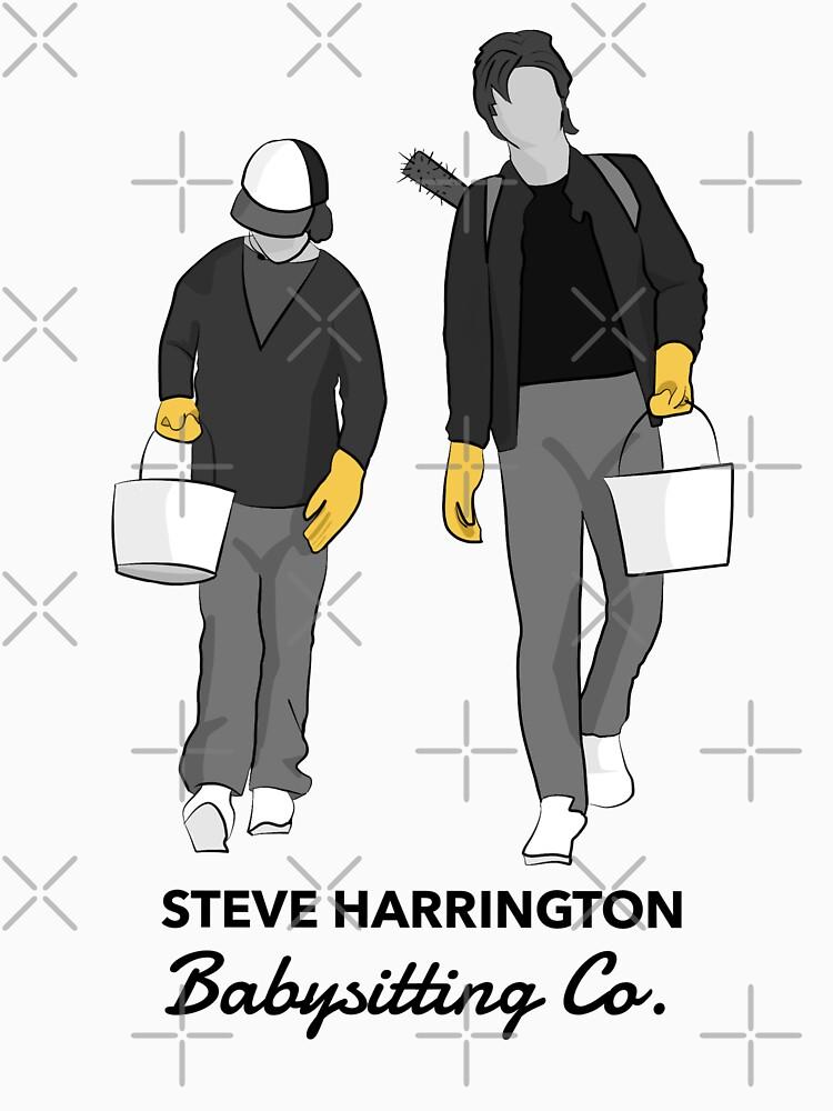 Steve Harrington Babysitting Co. by redhandedrobyn