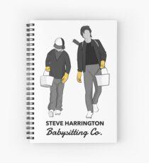 Steve Harrington Babysitting Co. Spiral Notebook