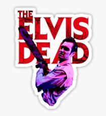 The Elvis Dead - 'Chainsaw Snarl' Sticker