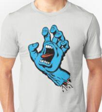 Santa Cruz Screeming Hand Blue T-Shirt