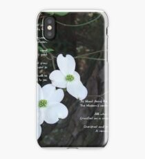 The legend of the dogwood iPhone Case/Skin